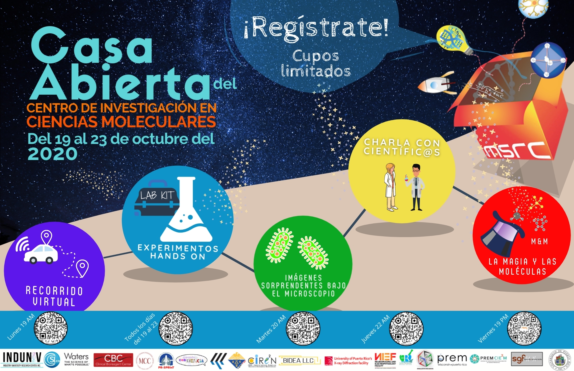 Casa Abierta | Centro de Investigación en Ciencias Moleculares