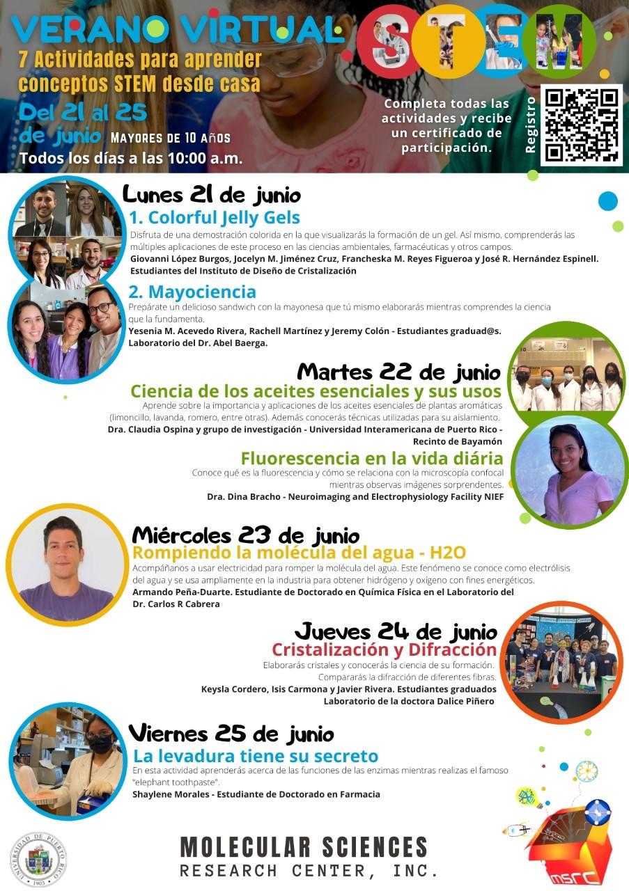 Verano Virtual STEM 2021